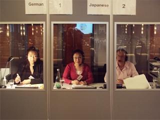 国際会議・イベント時の通訳 イメージ