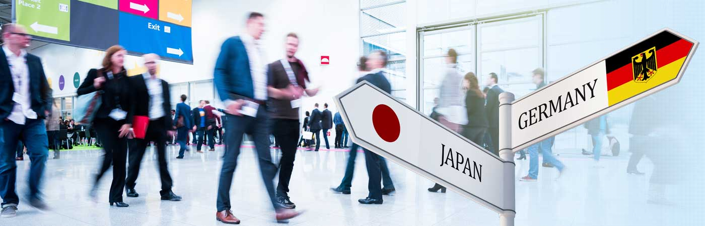 Messen Japan Germany