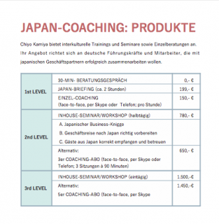 Japan-Coaching_Preise